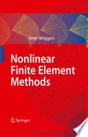 Nonlinear Finite Element Methods Book PDF