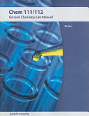 Laboratory Manual for Principles of General Chemistry 8th Edition for WCS