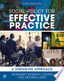 Social Policy for Effective Practice