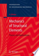 Book Cover: Mechanics of Structural Elements