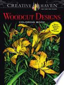 Creative Haven Woodcut Designs Coloring Book Book PDF