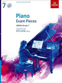 Piano Exam Pieces 2017 & 2018, Grade 7, with CD