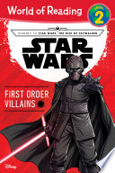 Journey to Star Wars: The Rise of Skywalker: First Order Villains