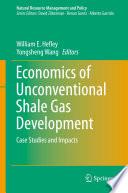 Economics of Unconventional Shale Gas Development