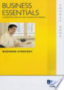 Business Essentials - Unit 7 Business Strategy