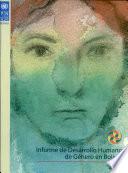 Informe de desarrollo humano de género en Bolivia, 2003