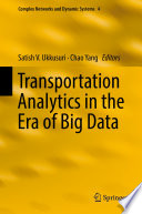 Book Cover: Transportation Analytics in the Era of Big Data