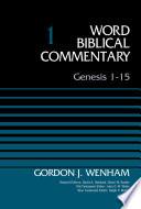 Genesis 1 15 Volume 1