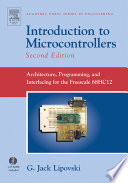 Introduction to Microcontrollers Book