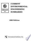 Current environmental engineering summaries