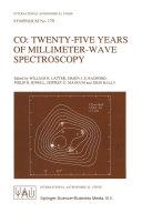 CO  Twenty Five Years of Millimeter Wave Spectroscopy