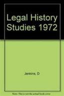 Legal History Studies 1972