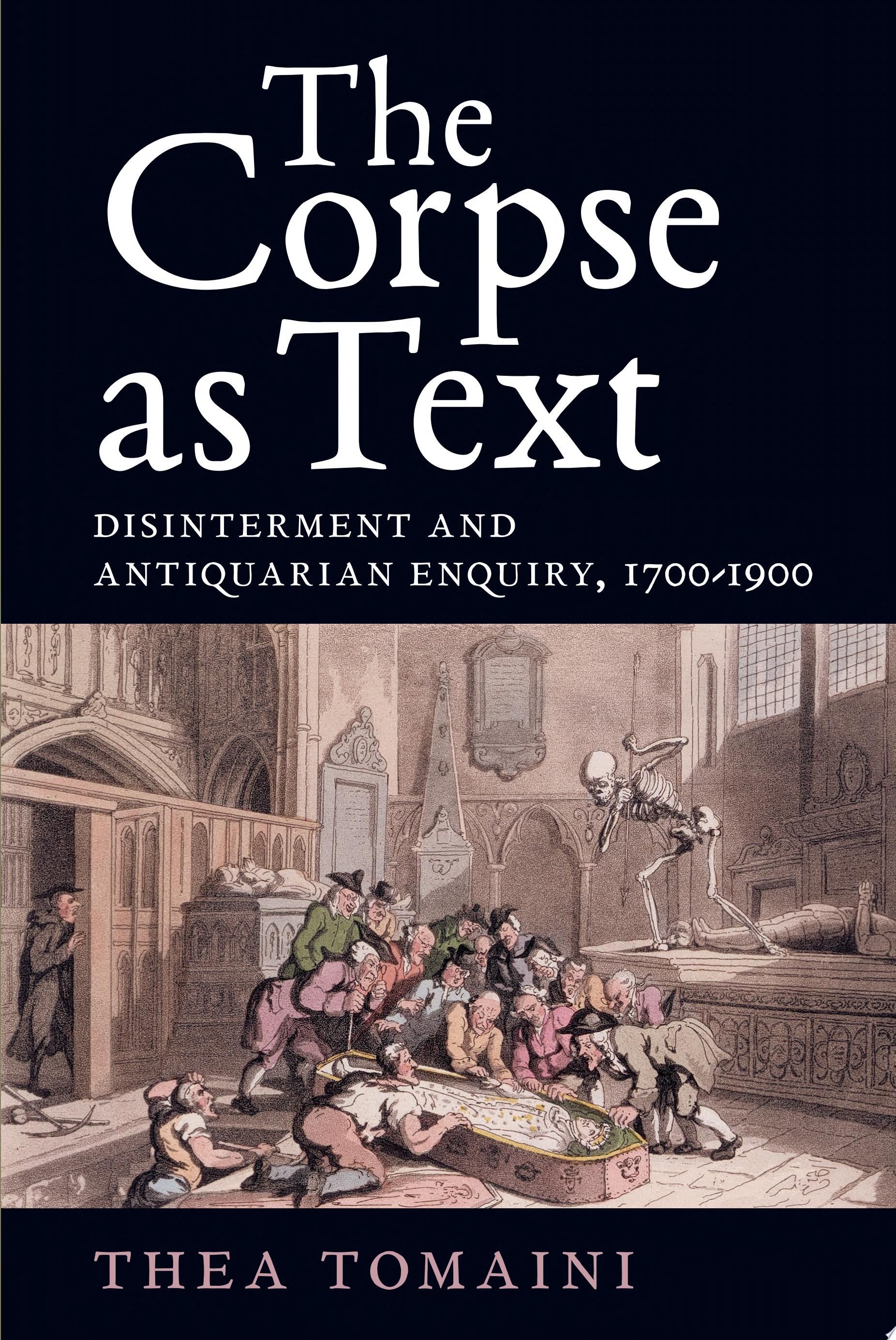 The Corpse as Text