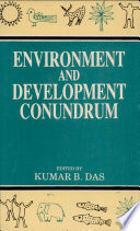 Environment and Development Conundrum Book