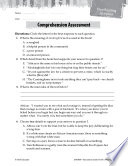 To Kill a Mockingbird Comprehension Assessment