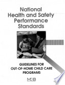National Health and Safety Performance Standards
