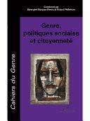 Pdf Genre, politiques sociales et citoyenneté Telecharger