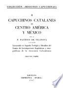 Capuchinos catalanes en Centro América y México