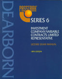 Passtrak Series 6 Investment Company Variable Contracts Limited Representative