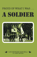 Proud of What I Was — a Soldier