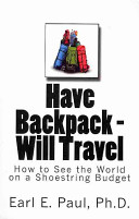 Have Backpack Will Travel