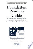 Foundation Resource Guide Book PDF