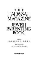 The Hadassah Magazine Jewish Parenting Book