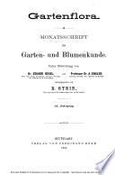 Gartenflora Book