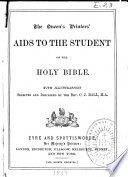 The Queen s Printers  Aids to the Student of the Holy Bible