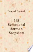 365 Sensational Sermon Snapshots [Pdf/ePub] eBook