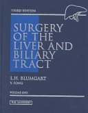 Surgery of the Liver and Biliary Tract