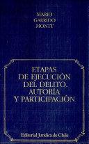Etapas de Ejecucion Del Delito Autoria Y Particpacion