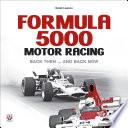 Formula 5000 Motor Racing
