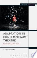 Adaptation in Contemporary Theatre Book