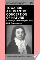 Towards a Romantic Conception of Nature  Coleridge s Poetry up to 1803
