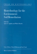 Biotechnology for the Environment  Soil Remediation