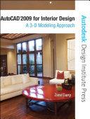 AutoCAD 2009 for Interior Design
