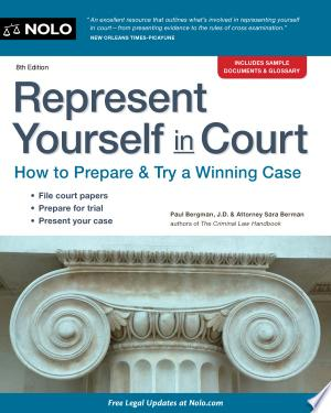 Download Represent Yourself in Court Free Books - Read Books