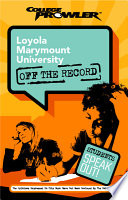 Loyola Marymount University College Prowler Off The Record