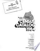Bureau of the Census Catalog