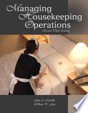 Managing Housekeeping Operations (AHLEI)