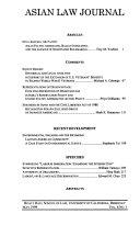 Asian Law Journal - Bände 6-8 - Seite 89
