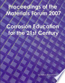 Proceedings of the Materials Forum 2007: