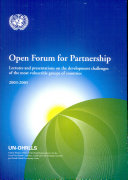 open forum for partnership