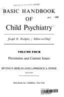 Basic Handbk Child Psych