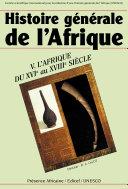 L'Afrique du XVIe au XVIIIe siècle