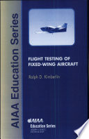 Flight Testing of Fixed Wing Aircraft Book