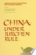 China Under Jurchen Rule Book