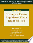 Hiring an Estate Liquidator That s Right For You