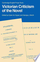 Victorian Criticism of the Novel